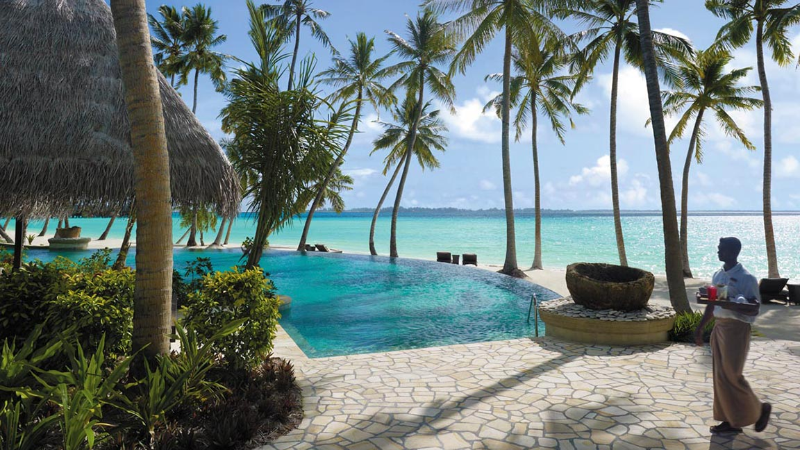 Shangri-La's Villingili Resort & Spa Endheri Pool