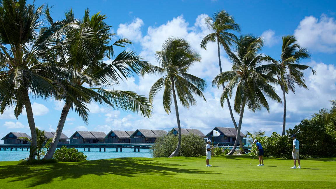Shangri-La's Villingili Resort & Spa - Malediven Golf