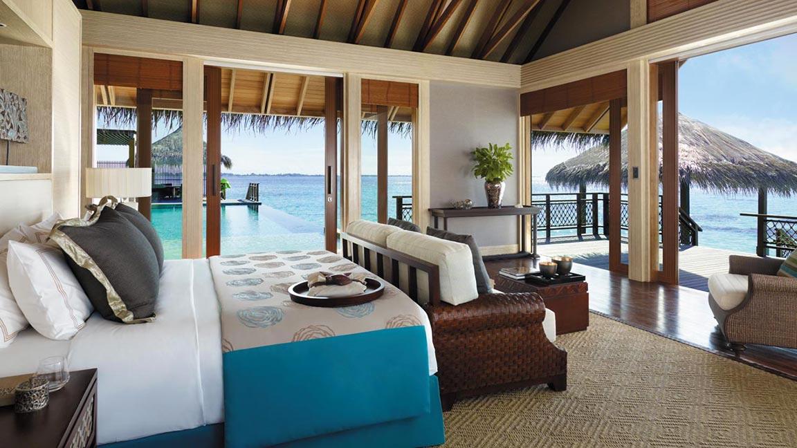 Shangri-La's Villingili Resort & Spa - Traumhafter Ausblick