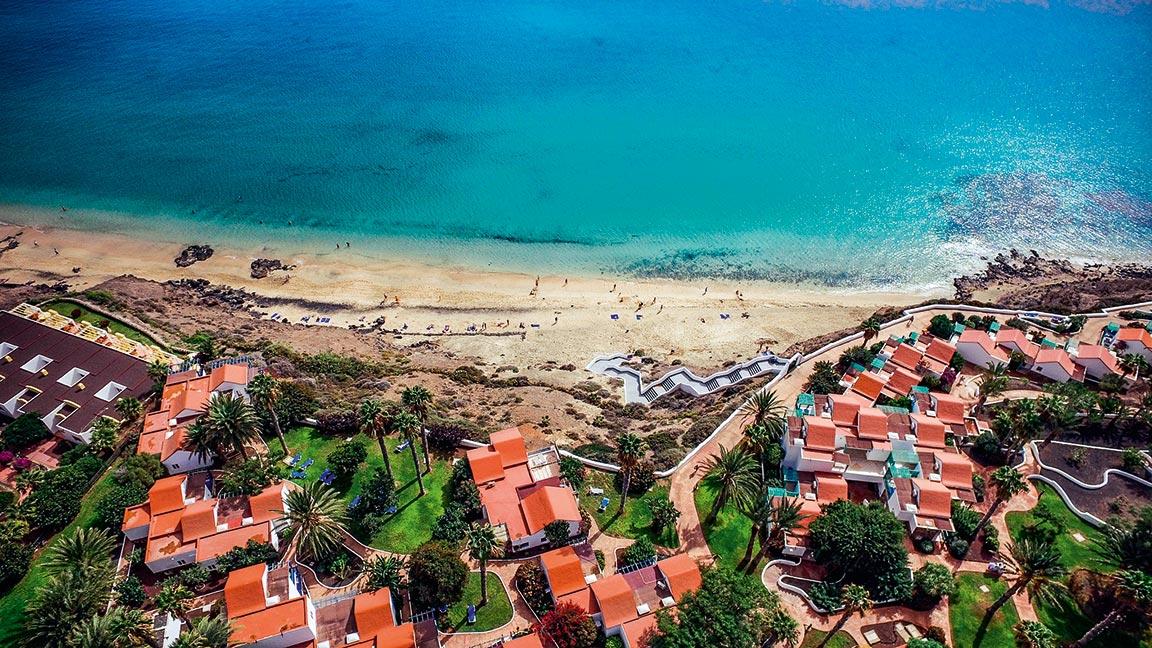 Aldiana Fuerteventura - Aerial View