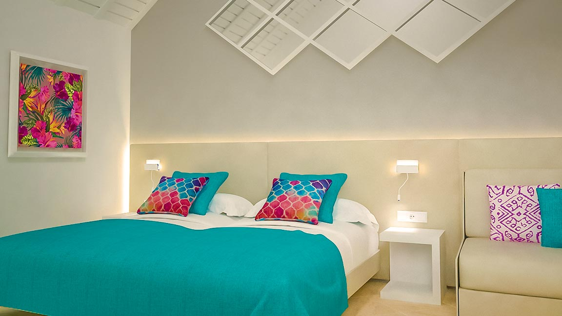 Aldiana Fuerteventura - Schlafzimmer