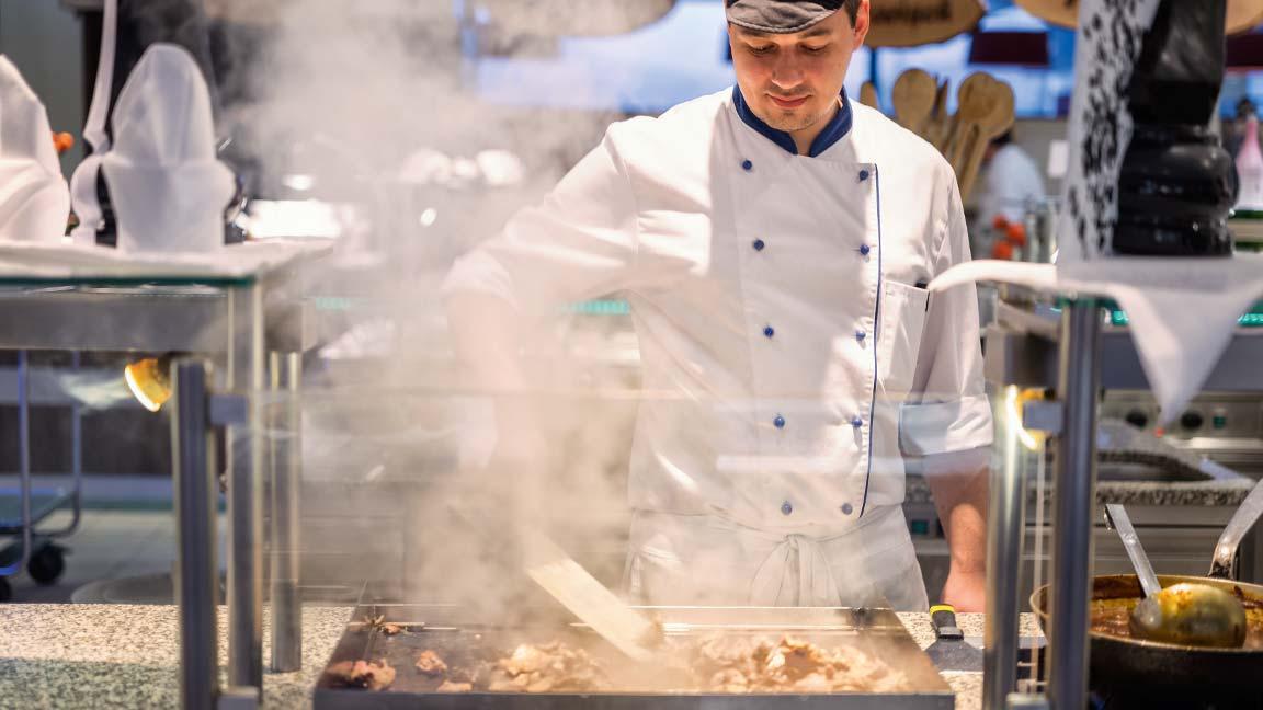 Aldiana - Gourmetköche bei der Arbeit