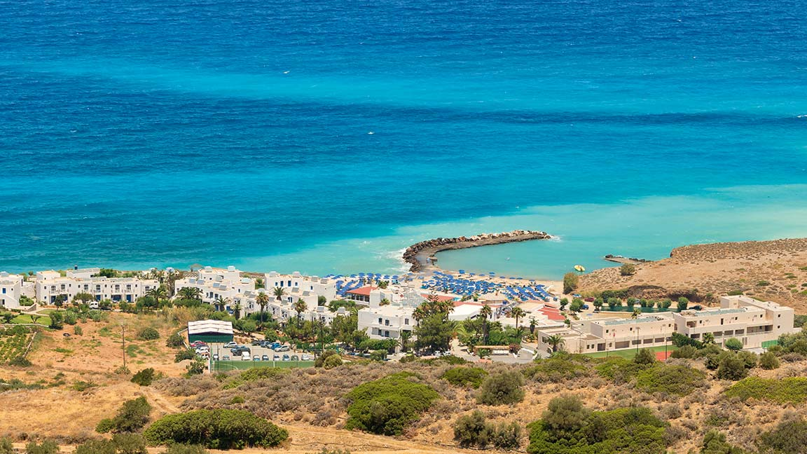 Aldiana Kreta - Aus der Luft