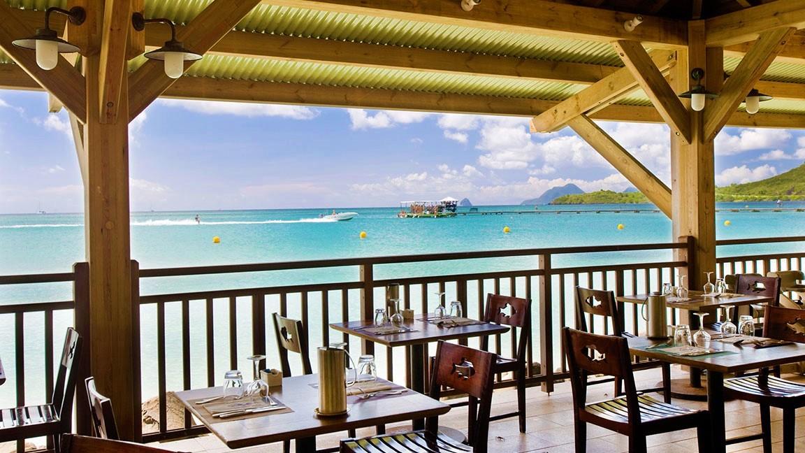 Club Med – Les Boucaniers - Aussicht aufs Meer