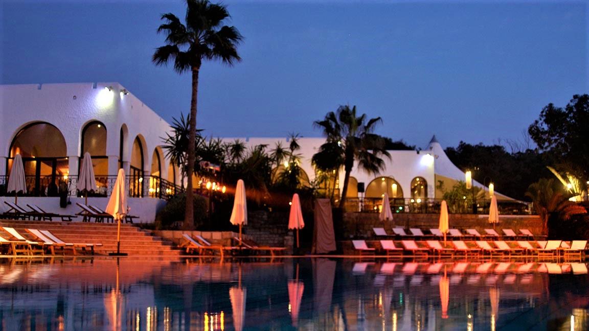 Club Med - Agadir im Sonnenuntergang