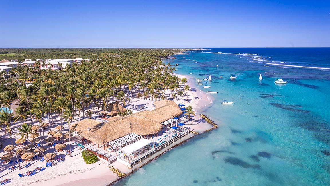 Resort Club Med - Punta Cana ais der Luft