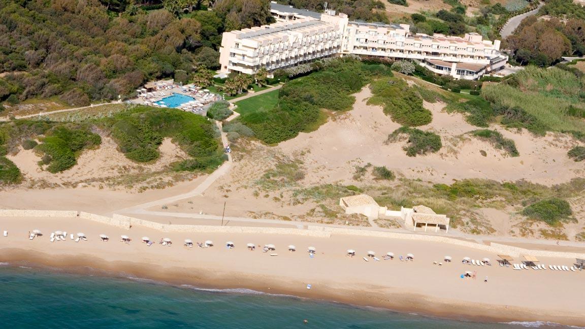 Club Med – Kamarina Luftaufnahme
