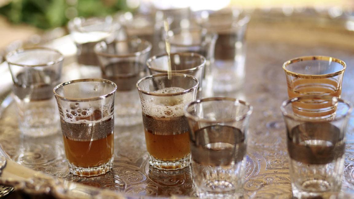 Robinson Club Agadir Tee trinken