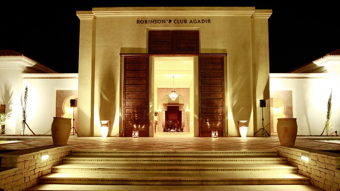 Robinson Club Agadir bei nacht