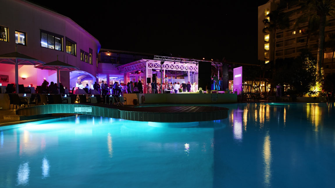 Robinson Club Jandia Playa Lichter mit pool