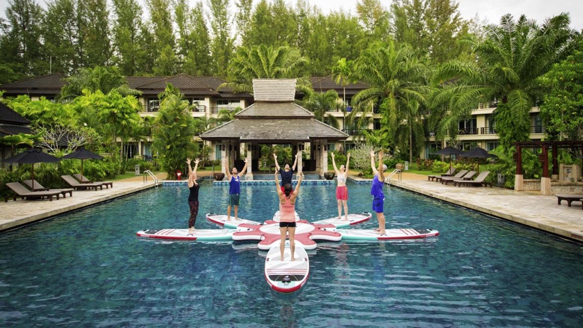 Robinson Club Khao Lak SUP und Yoga
