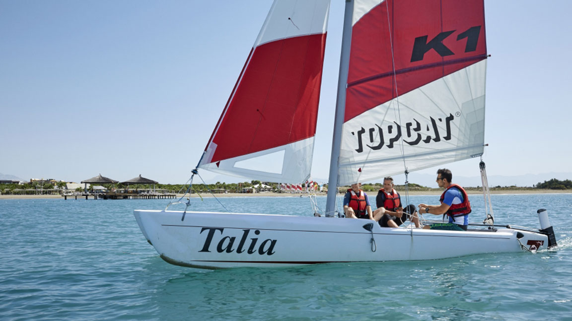 Robinson Club Nobilis segeln