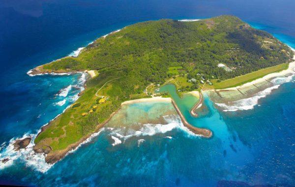 Reisen auf die Fregate-Island
