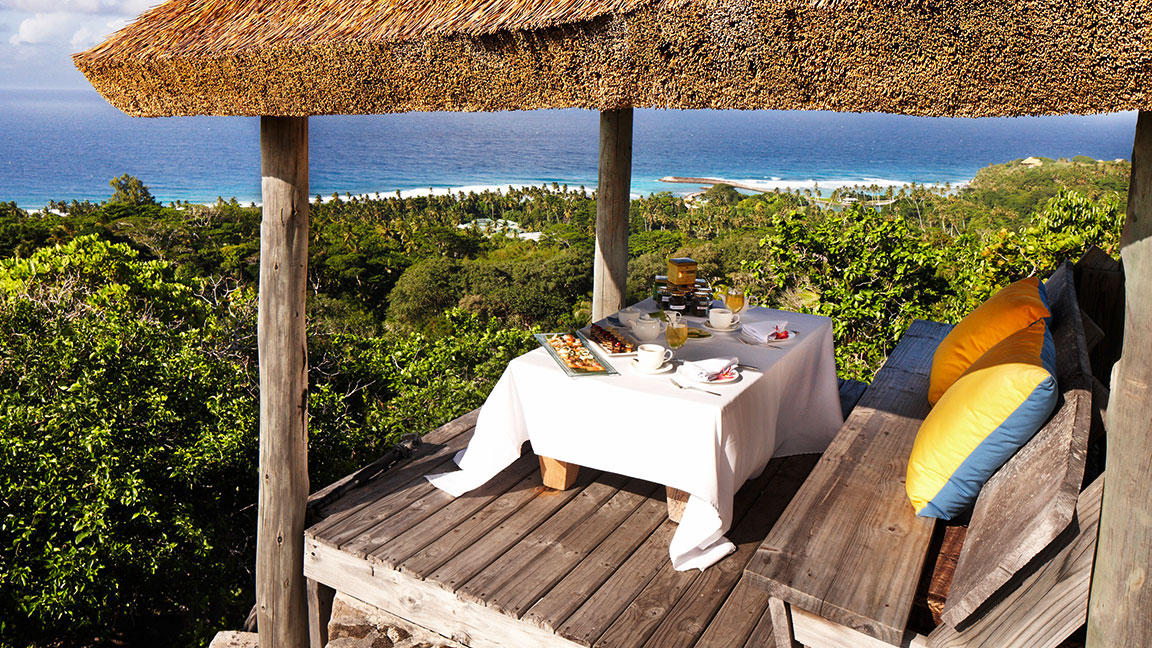 Fregate Island Private dinner