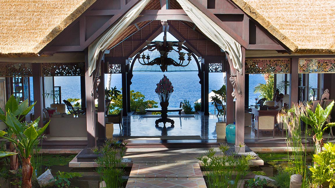 Fregate Island Private eingang