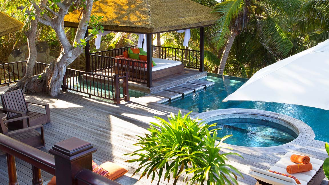 Fregate Island Private Poolanlage