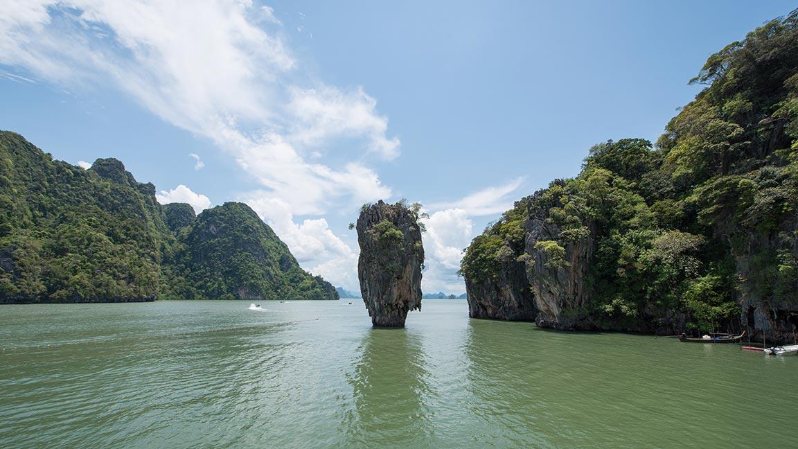 Atemberaubende Landschaften in Thailand