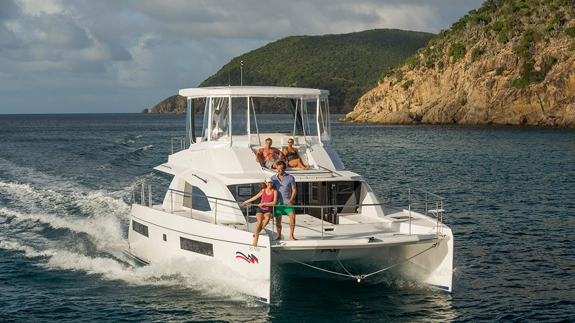 The Moorings Yacht urlaub
