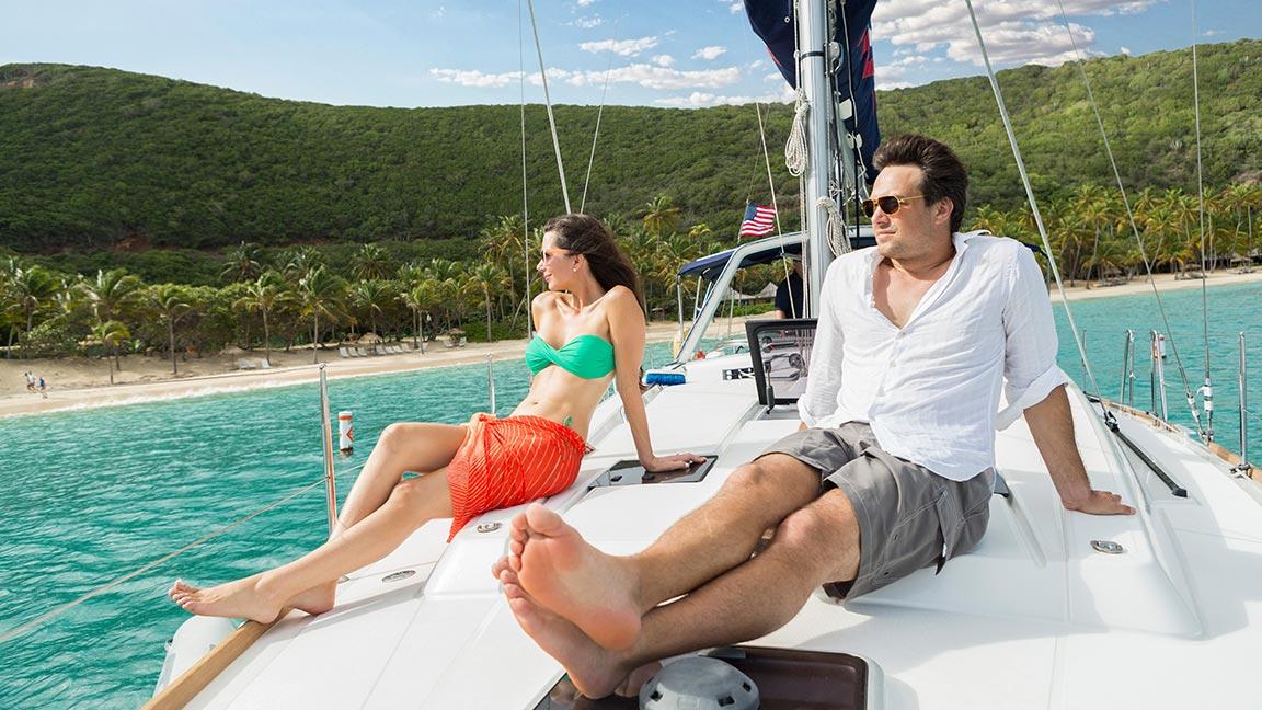 The Moorings Yacht relaxen