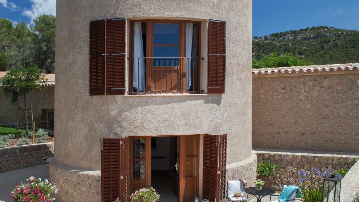 Castell Son Claret - Außenansicht turm