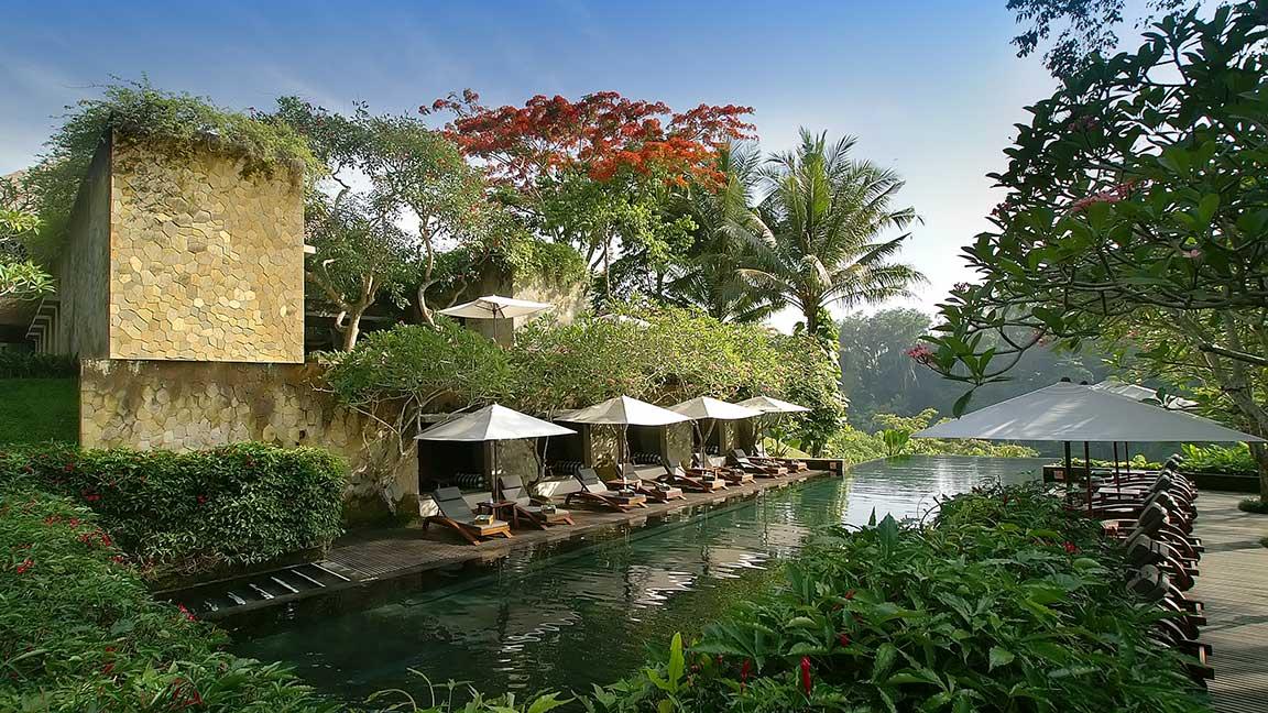 Maya Ubud Resort & Spa Außenbereich