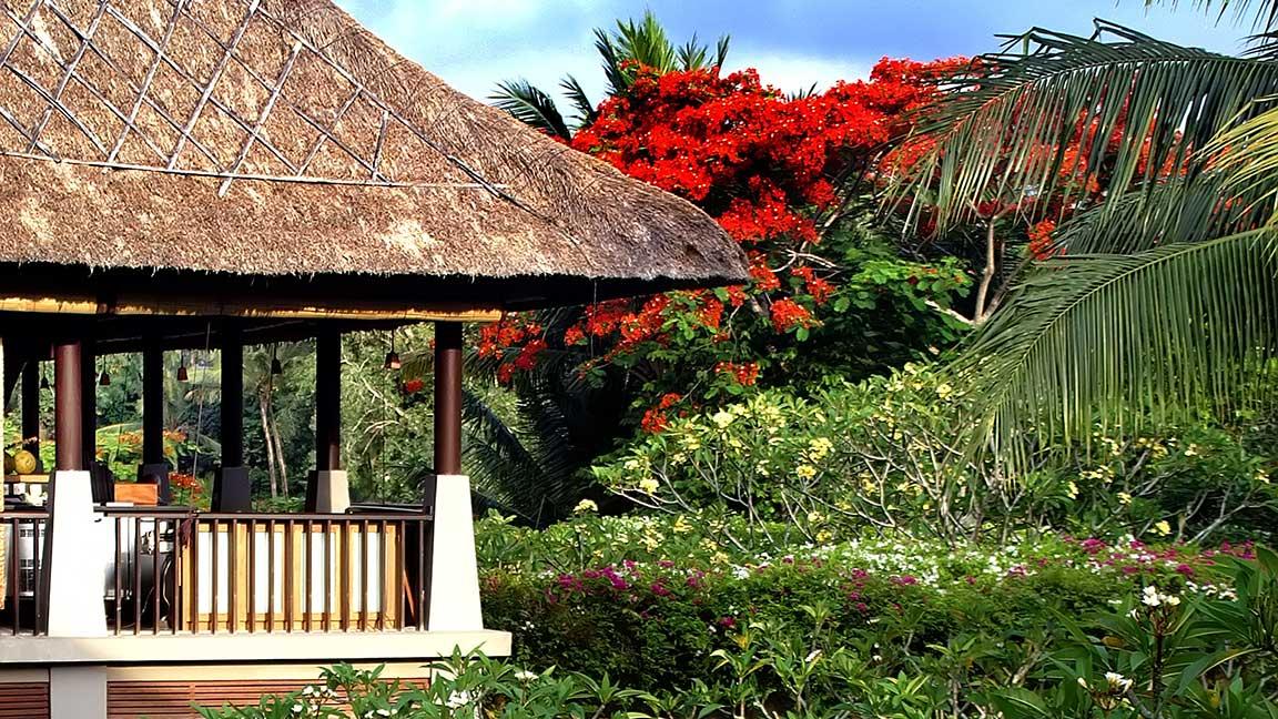 Maya Ubud Resort & Spa traumhafter Garten