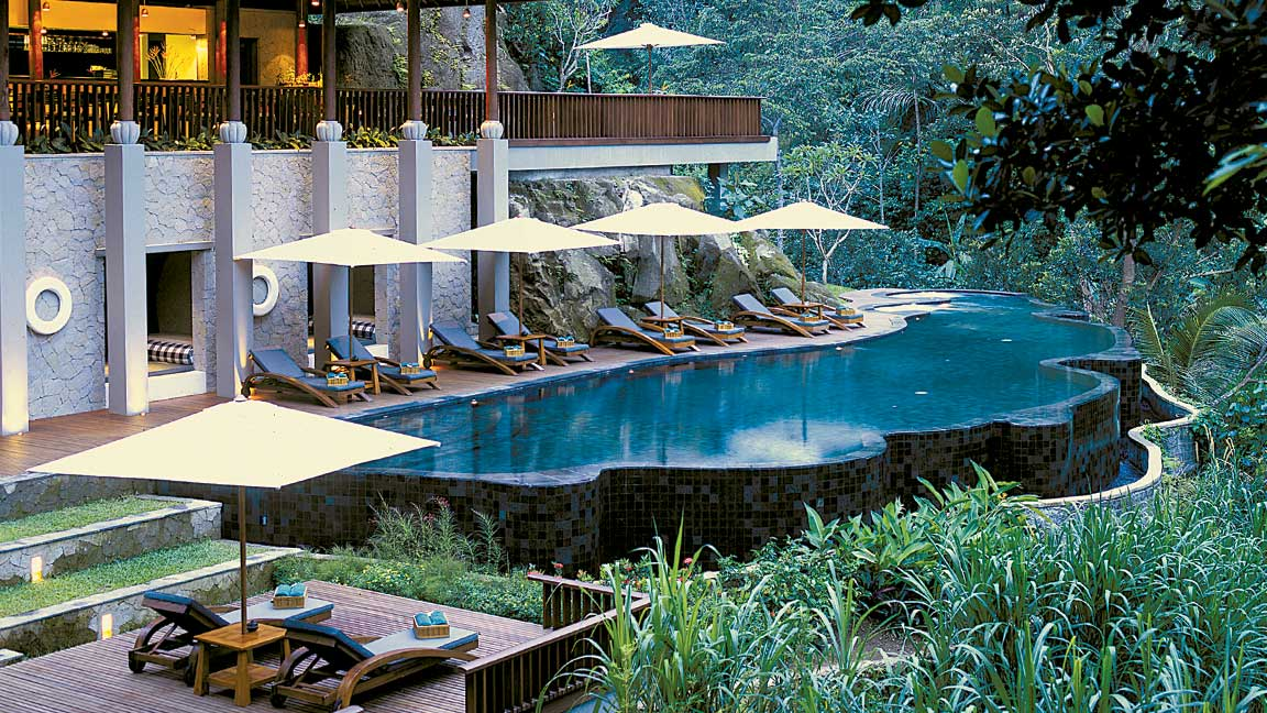 Maya Ubud Resort & Spa Pool