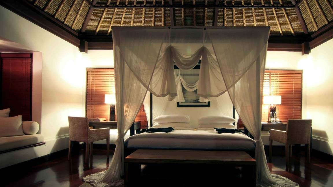 Kayumanis Ubud Private Villa & Spa Himmelbett