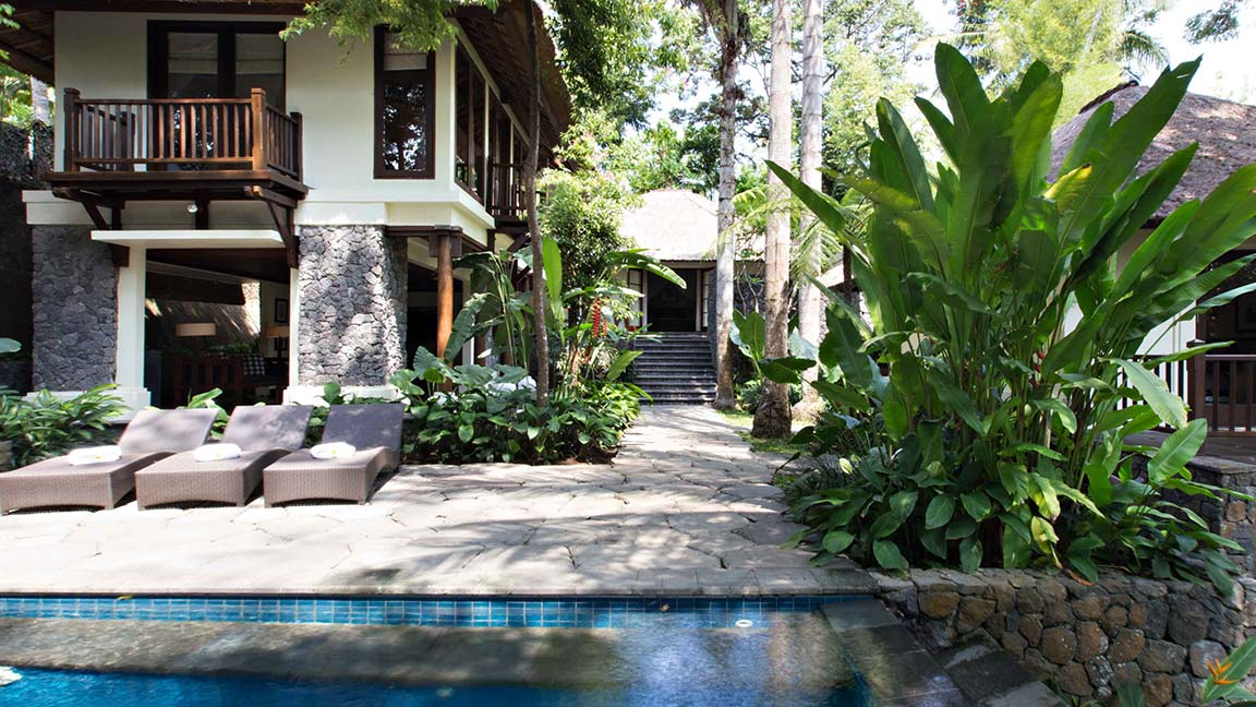 Kayumanis Ubud Private Villa & Spa Pool außen