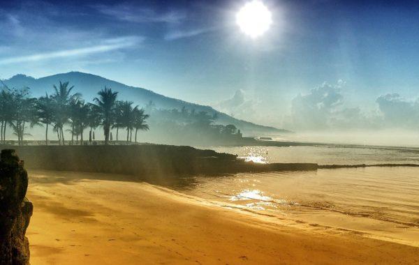 Indonesien Candidasa-Beach