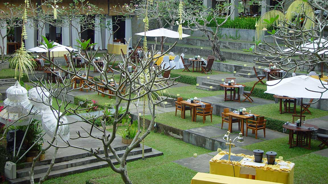Maya Ubud Resort & Spa Restaurant