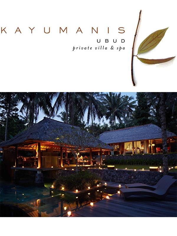 Kayumanis Ubud Private Villa & Spa Info
