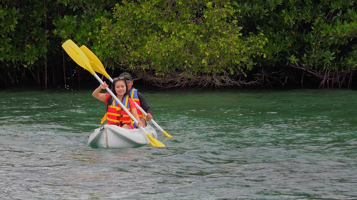 The Menjangan - Kayak