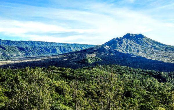 Berg auf Ihrer Reise Bali