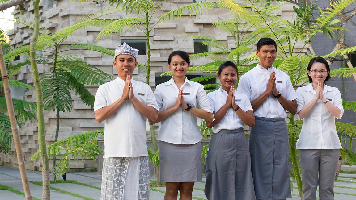 Maya Sanur Resort & Spa Team