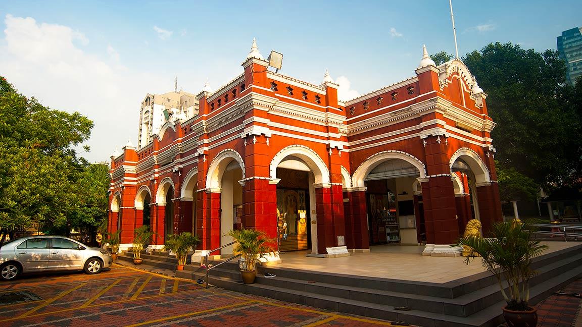 Malaysia Reise und buddhistische Gebäude