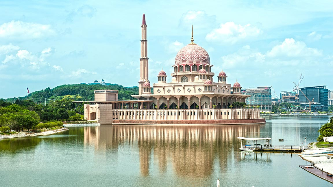 Putra-Moschee in Malaysia