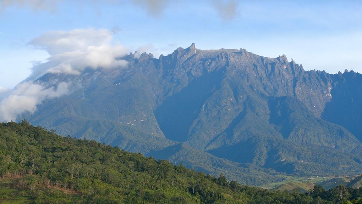 Berge an der Westküste Malaysias