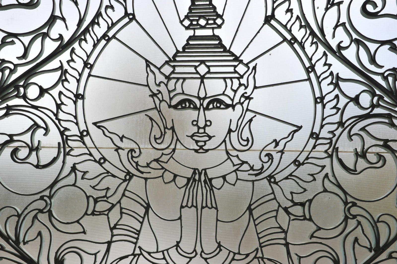 Kambodscha Kunstwerk