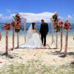 Hochzeit am Traumstrand von Mauritius