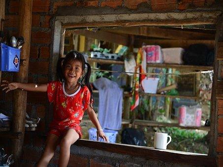 Kambodscha Reise - Kind