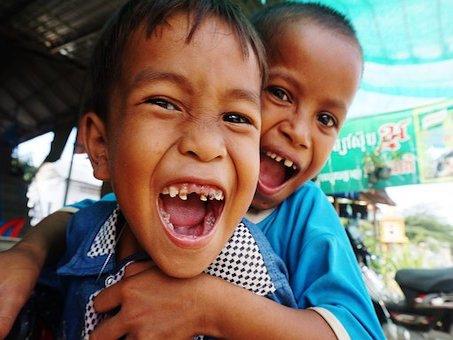 Kambodscha Kinder