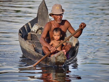 Kambodscha Reise Menschen