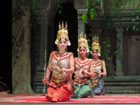 Kambodscha Tänzer