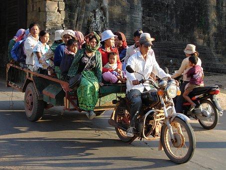 Kambodscha Verkehr
