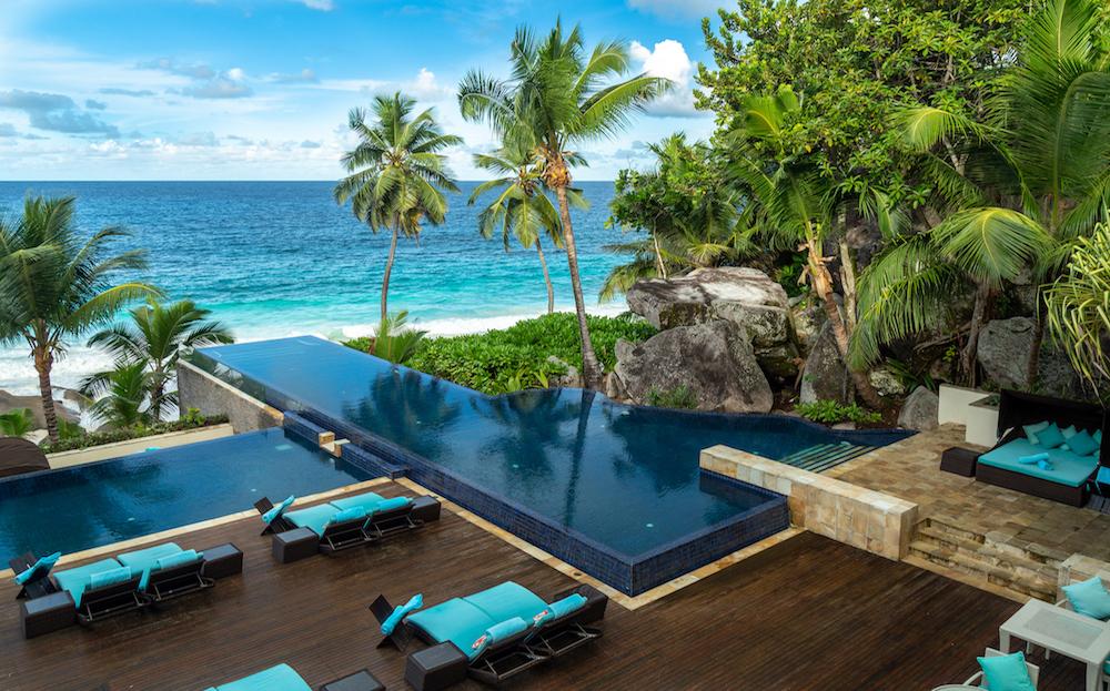 Banyan Tree Seychelles - Hauptpool