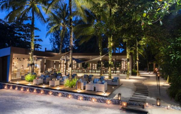 Beach Bar des Hotel The Sarojin Thailand