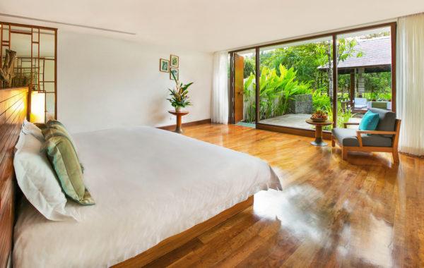 Blick in eine Suite der Garten Residence im The Sarojin Thailand