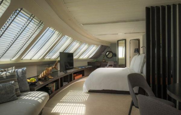 Schlafen an Bord in den Malediven