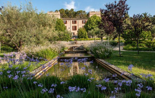 Castell Son Claret - Außenanlage